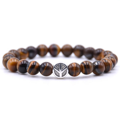 Tigers Eye Bead Bracelet