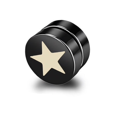 Black Star Magnetic Earring