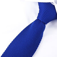Blue Knitted Ties UK