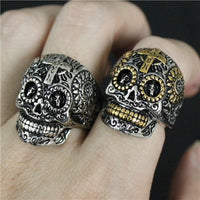 mens stainless steel rings UK