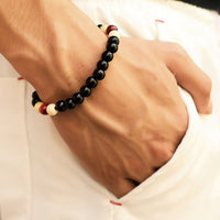 means black and red bracelet UK