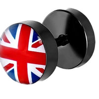 Union Jack Stud Earring