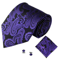 Deep Purple Mens Tie Accessories