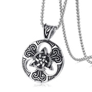 Stainless Steel Celtic Necklace