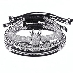 Triple Silver Crown Set