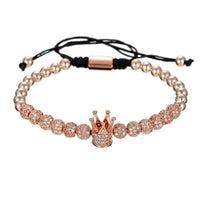 Triple Rose Gold Crown Set