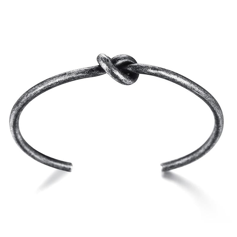 Steel Knot Bangle