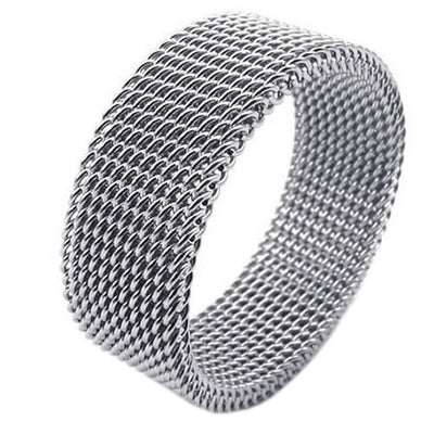 Silver Flexi Steel Ring