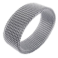 Silver Flexi Steel Ring Online