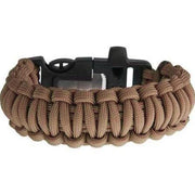 Sturdy Brown Paracord Bracelet