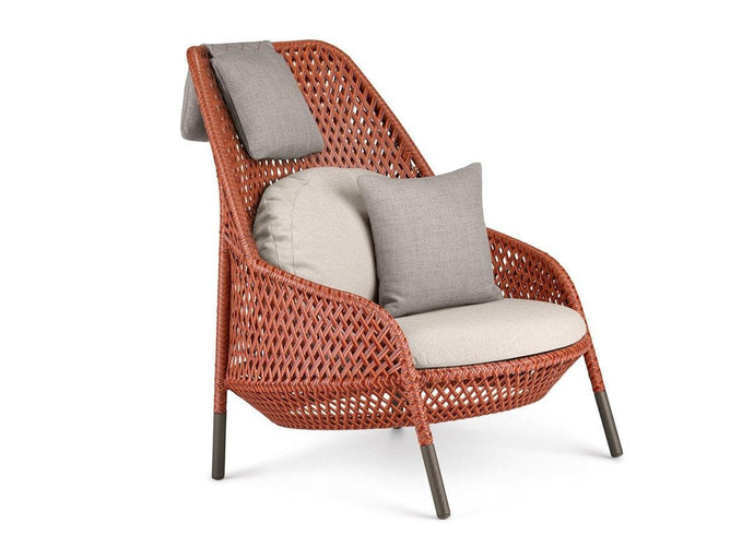 AHNDA Wing Chair Outdoor Furniture DEDON