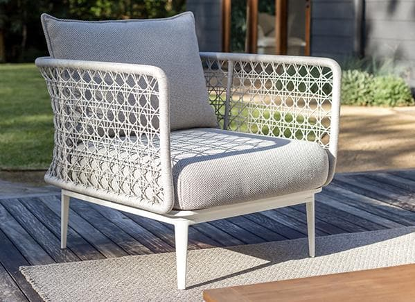Aireys Woven Lounge Chair Outdoor Furniture Kett