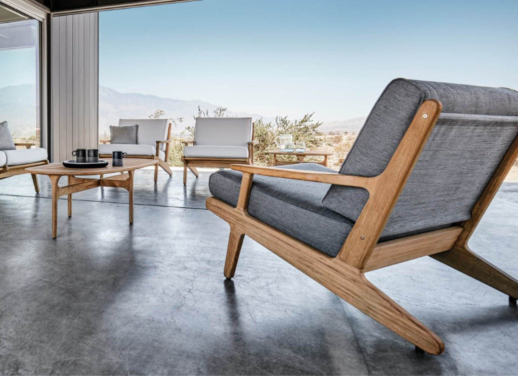 Bay Lounge Chair Outdoor Furniture Gloster