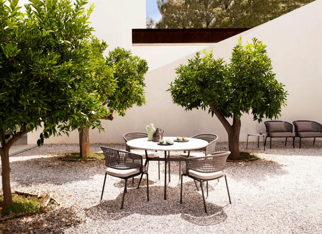 Branch 125cm Round Tables Outdoor Furniture Tribu