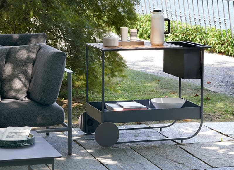 Butler Trolley Outdoor Furniture Potocco