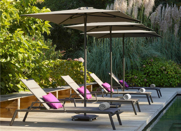 Caractere Centre Pole Umbrella Outdoor Furniture Jardinico