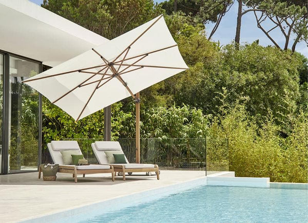 Caractere Side Pole Umbrella Outdoor Furniture Jardinico