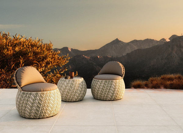DALA Coffee and Side Tables Outdoor Furniture DEDON