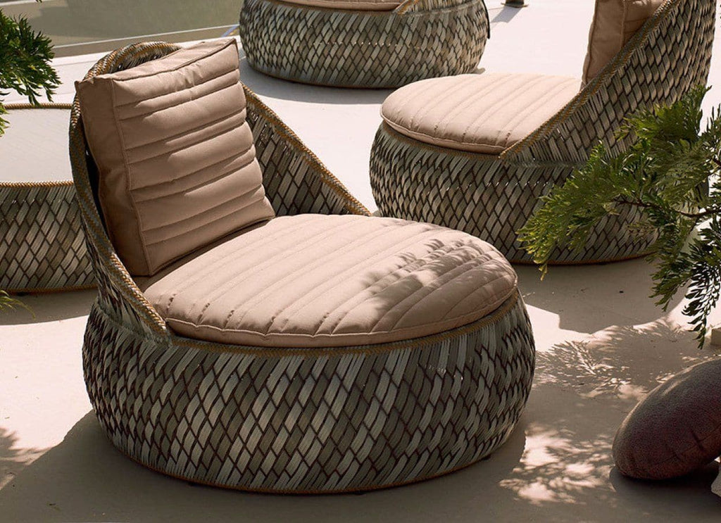 DALA Lounge Chair in Stone 30% Off Outdoor Furniture DEDON