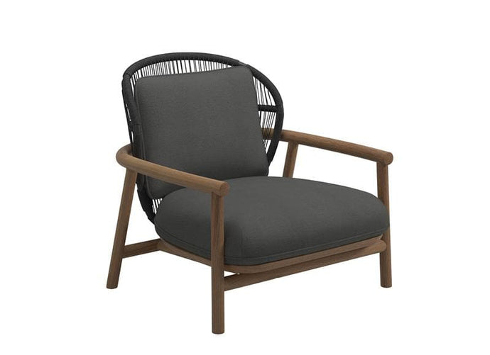 Fern Low Back Lounge Chair Outdoor Furniture Gloster