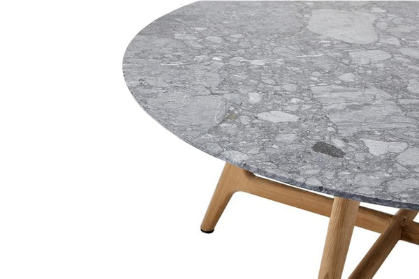 Forrest Round Stone Table Outdoor Furniture Kett