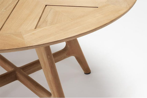 Forrest Round Teak Table Outdoor Furniture Kett