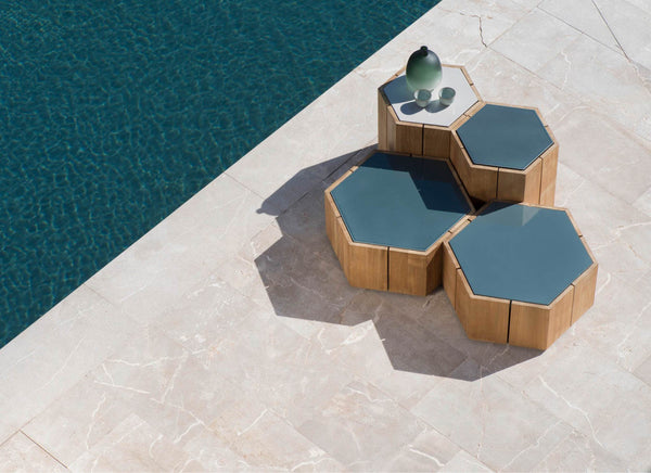 Hexagon Low Tables