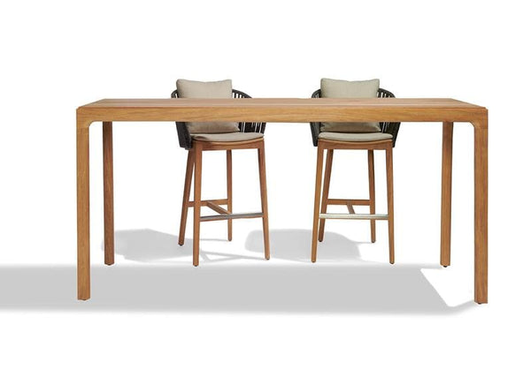 Illum Teak Bar Table Outdoor Furniture Tribu