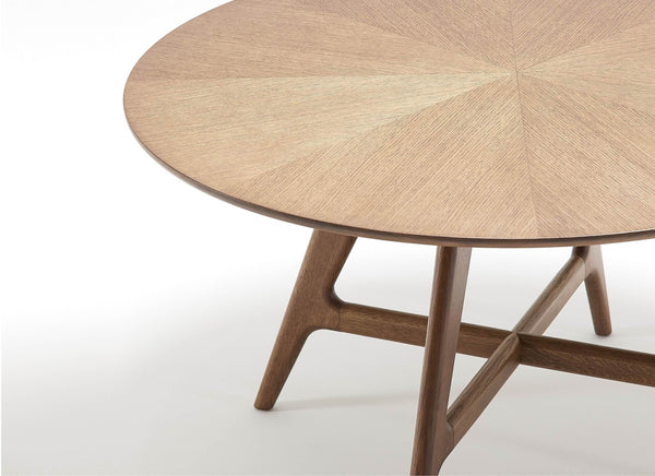 Round Timber Tables