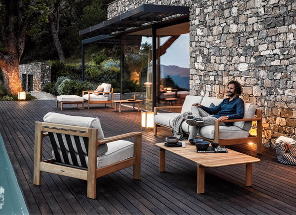 Loop Ottoman 50% Off Outdoor Furniture Gloster