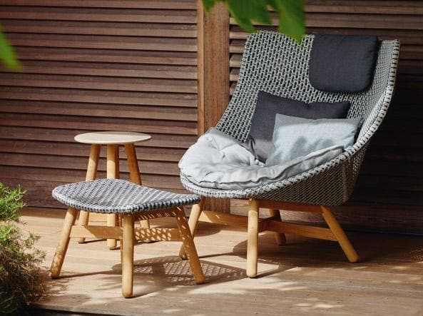 MBRACE Footstool Outdoor Furniture DEDON