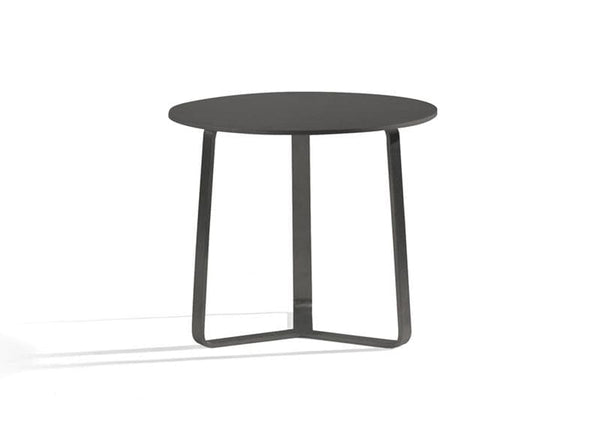 Outside Round Side Table Outdoor Furniture Manutti
