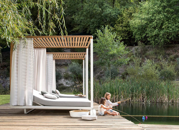 Pavilion Daybed Outdoor Furniture Tribu