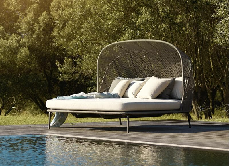 RILLY Cocoon Double Daybed Outdoor Furniture DEDON