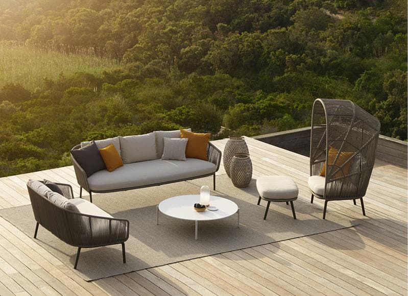 RILLY Lounge Chair Outdoor Furniture DEDON