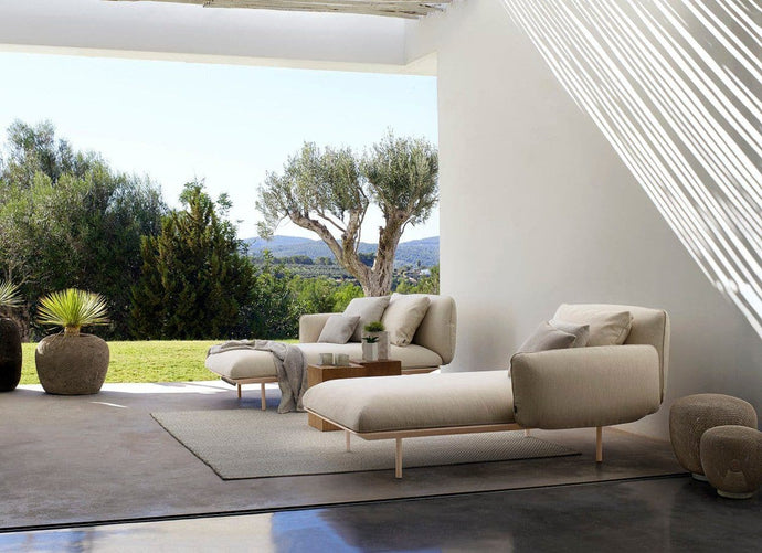 Senja Meridienne Outdoor Furniture Tribu