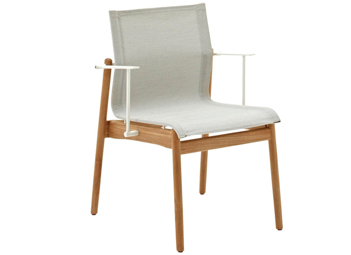 Sway Teak Arm Chair Outdoor Furniture Gloster