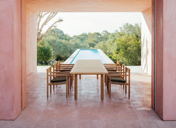 TIBBO Dining Tables Outdoor Furniture DEDON