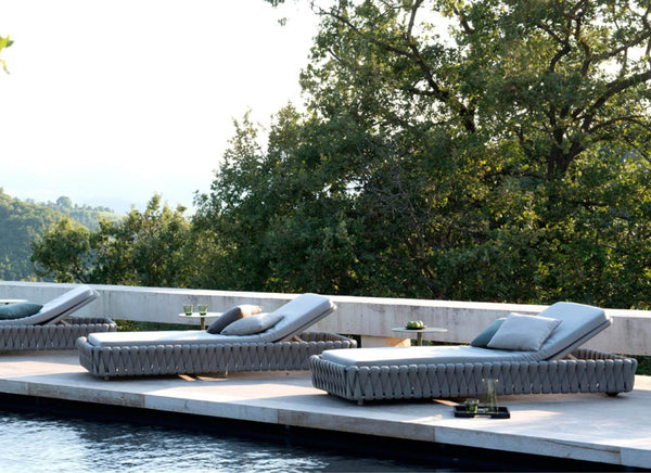 Tosca Lounger Outdoor Furniture Tribu