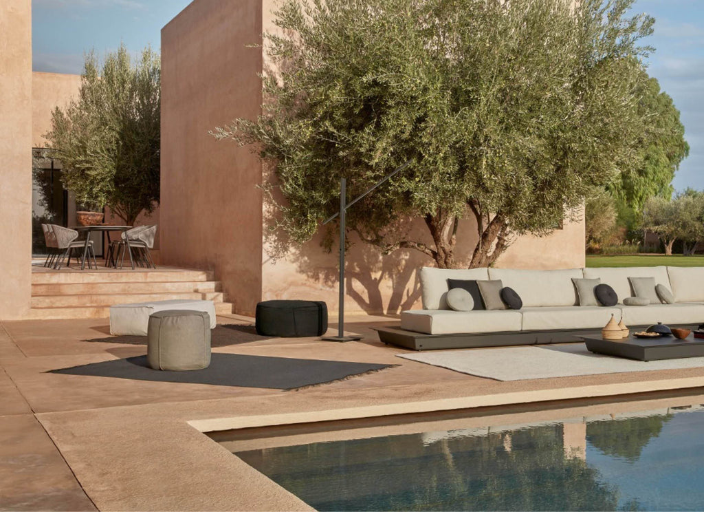 Touch Ottomans Outdoor Furniture Manutti