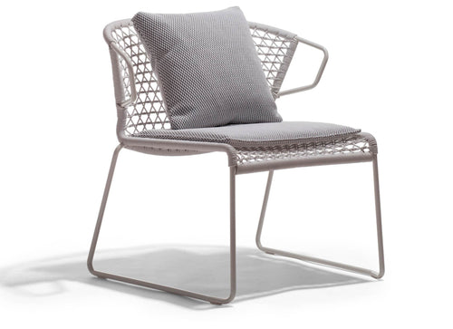 Vela Lounge Armchair Outdoor Furniture Potocco