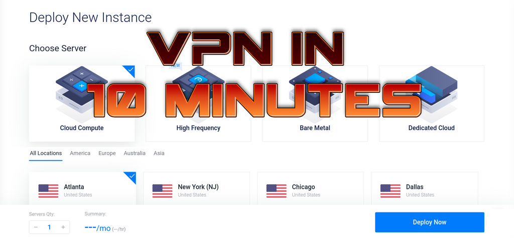 How To Create Your Own VPN In Just A Few Minutes (on VULTR)