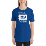 "Extra Sassy ""Hash All Night"" Short-Sleeve Unisex T-Shirt"