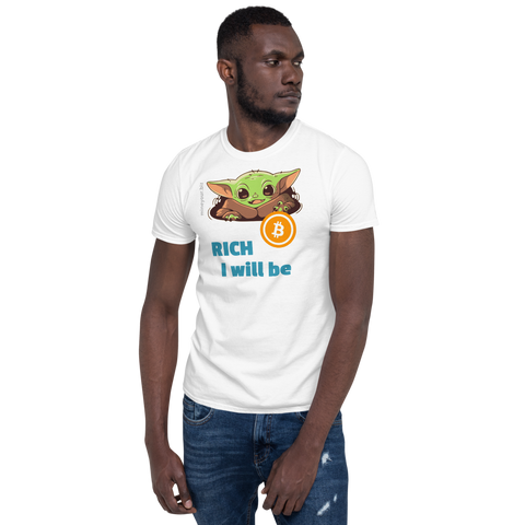 "Baby BitcoYoda - ""RICH I will be"" 