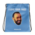 Love Your Face! - Drawstring bag