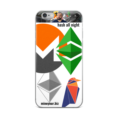 """HASH ALL NIGHT"" - iPhone Case"