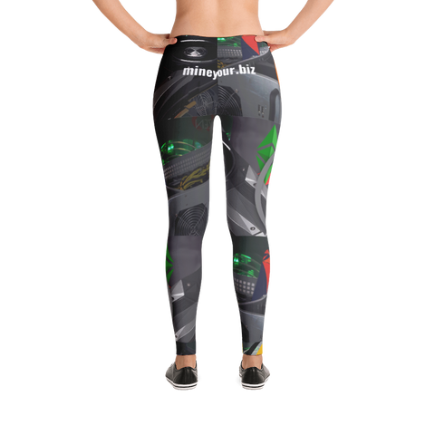 MINEYOURBIZ - Leggings