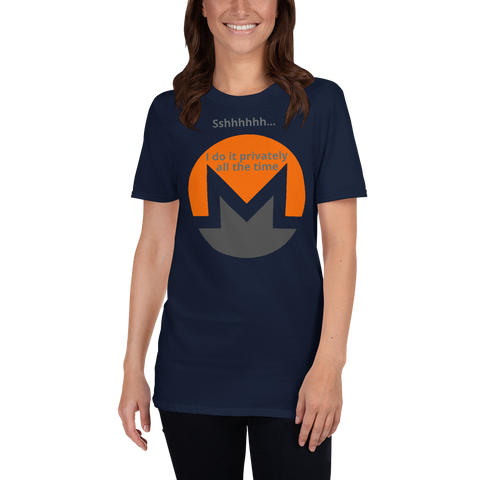 Monero - Short-Sleeve Unisex T-Shirt
