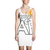 """Hungry AF (for Crypto)"" Sublimation Dress"