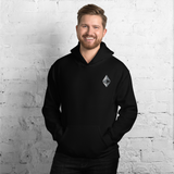 Ethereum (ETH ) EMBROIDERED Unisex Hoodie